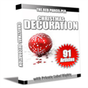 91 Christmas Decorations PLR Articles