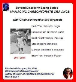 reducing carbohydrate cravings hypnotically