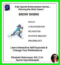 kids sports hypnosis - snow skiing