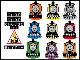 choo choo choose the rhythm