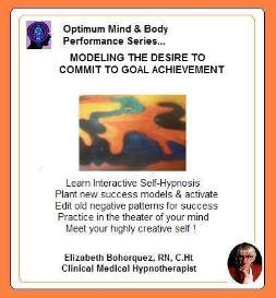 modeling the desire to commit & achieve with self-hypnosis