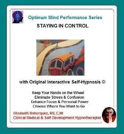 modeling a sense of control with self-hypnosis
