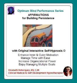 building persistence with self-hypnosis