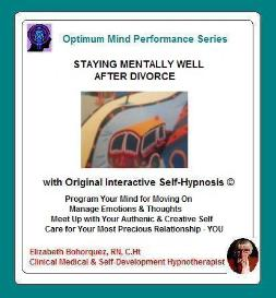 divorce - staying mentally & physically well with self-hypnosis