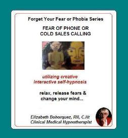 managing fear of phone call sales with self-hypnosis