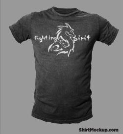 fighting spirit pro limited edition dragon shirt