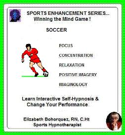 sports hypnosis - adult soccer performance