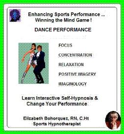 sports hypnosis - competitive dance performance