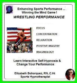 sports hypnosis - adult wrestling
