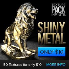 texture pack infinite - shiny metal
