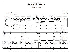 Ave Maria, Medium Voice in A Flat Major (Dramatic Sop./Mezzo/Ten.) Schubert Lat digi | eBooks | Sheet Music