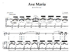 Ave Maria, Medium Voice in G Major (Mezzo), Schubert Latin digi | eBooks | Sheet Music