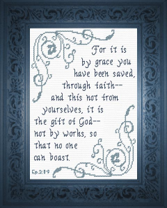 By Grace | Crafting | Cross-Stitch | Religious