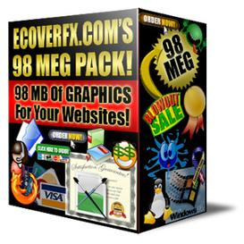 98 MB Web Graphics PLUS Bonus With Master Resale Rights!