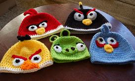 Angry Birds Beanie Crochet Pattern