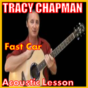 learn to play fast car by tracy chapman