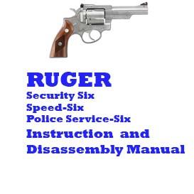 ruger security-six revolver manual