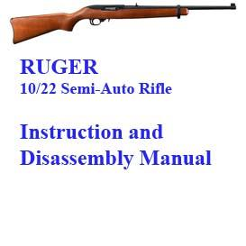 ruger 10/22 semi-auto rifle manual
