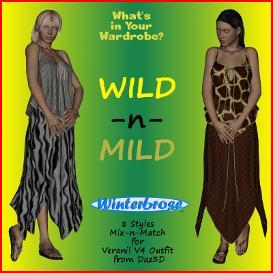 wild-n-mild for veranil v4 outfit