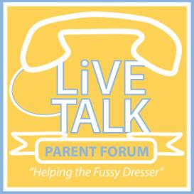 parent podcast: troubling tags and socks: helping the fussy dresser