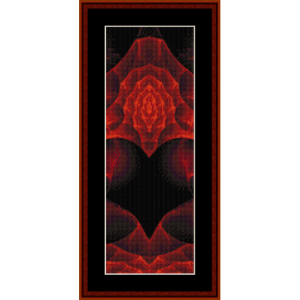 Fractal 378 Bookmark cross stitch pattern by Cross Stitch Collectibles | Crafting | Cross-Stitch | Other