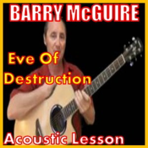 learn to play eve of destruction by barry mcquire