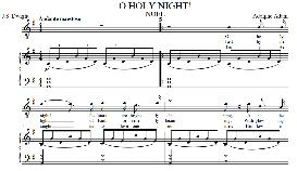 O Holy Night, Low Voice in G  Major (Contralto) Adam digi | eBooks | Sheet Music