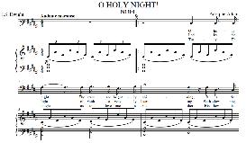 O Holy Night, Medium Voice in B Major (Baritone) Adam digi | eBooks | Sheet Music
