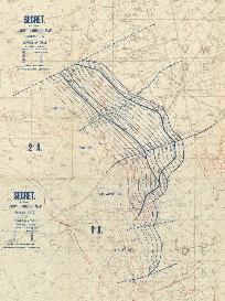 World War 1 Battle Map Images Poelcappelle Passchendaele Ypres Vimi Ridge | Photos and Images | Miscellaneous