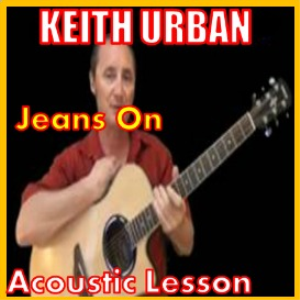 learn to play jeans on by keith urban