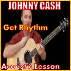 learn to play get rhythm by johnny cash
