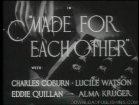 made for each other - movie 1939 drama jimmy stewart download .mpeg
