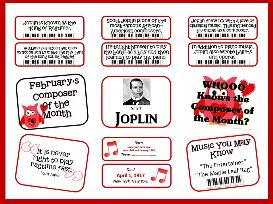 scott joplin composer of the month kit