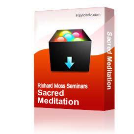 sacred meditation