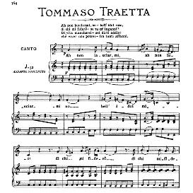 Ah non lasciarmi,no; Medium-high Voice in C Major, T.Traetta. For Soprano, Tenor, Mezzo, Baritone. From: Arie Antiche (Parisotti) -3-Ricordi (1889 | eBooks | Sheet Music