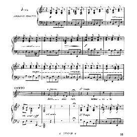 Ah, mio cor, schernito sei; Low Voice in G Minor, G.F.Haendel. For Contralto, Bass. From: Arie Antiche (Parisotti) -1-Ricordi (1885) | eBooks | Sheet Music