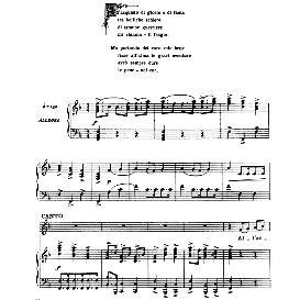All'acquisto di gloria, High Voice in F Major, A.Scarlatti. For Soprano, Tenor. From: Arie Antiche (Parisotti) -2-Ricordi (1889) | eBooks | Sheet Music