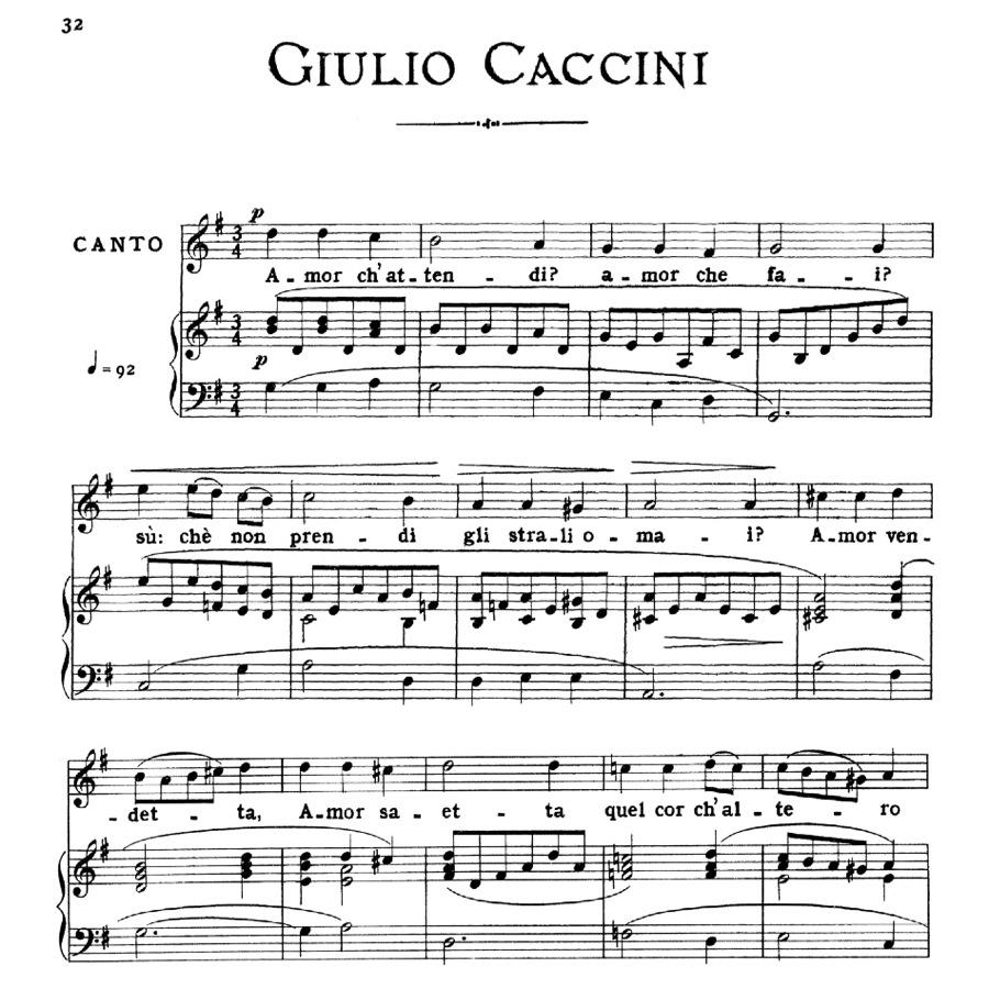Caccini Giulio -