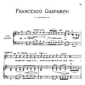 Augellin vago e canoro, Medium Voice in G Minor, F.Gasparini. For Mezzo, Baritone. From: Arie Antiche (Parisotti) -3-Ricordi (1889) | eBooks | Sheet Music
