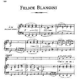 C'est une misère que nos jeunes gens, Medium-low Voice in E Minor, F.Blangini. For Mezzo, Baritone. From: Arie Antiche (Parisotti) -3-Ricordi (1889) | eBooks | Sheet Music
