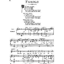 Cangia, cangia tue voglie, High Voice in C Major, G.B.Fasolo. For Soprano, Tenor. from: Arie Antiche (Parisotti) -2-Ricordi (1889) | eBooks | Sheet Music