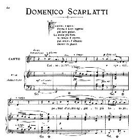 Consolati e spera!, Medium-low Voice in G Minor, A.Scarlatti. For mezzo, Baritone. From: Arie Antiche (Parisotti) -1-Ricordi (1885) | eBooks | Sheet Music