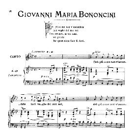 Deh più a me non v'ascondete, Medium Voice in A Flat Major. G.M.Bononcini. For Mezzo, Baritone. From: Arie Antiche (Parisotti) -1-Ricordi (1885) | eBooks | Sheet Music