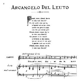 Dimmi, amor, Medium Voice in F Major, A.Del Leuto. For Mezzo, Baritone. From: Arie Antiche (Parisotti) -2-Ricordi (1889) | eBooks | Sheet Music