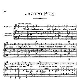 Gioite al canto mio, Medium-Low Voice in G Major, J.Peri. For Mezzo, Baritone; From: Arie Antiche (Parisotti) -3-Ricordi (1898) | eBooks | Sheet Music