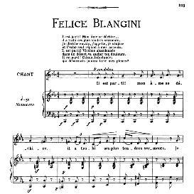 Il est parti,mon âme se déchire., Medium Voice in C Minor, F.Blangini. For Mezzo, Baritone. From: Arie Antiche (Parisotti) -3-Ricordi (1898) | eBooks | Sheet Music
