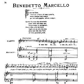 Il mio bel foco (Quella fiamma), Medium Voice in G Minor, B.Marcello. For mezzo, Baritone. From: Arie Antiche (Parisotti) -1-Ricordi (1885) | eBooks | Sheet Music