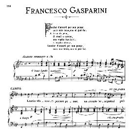 Lasciar d'amarti, Medium Voice in F Minor, F.Gasparini. For Mezzo, Baritone. From: Arie Antiche (Parisotti) -2-Ricordi (1889) | eBooks | Sheet Music