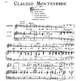 Lasciatemi morire, Medium-High Voice in F Minor, C.Monteverdi. For Soprano, Tenor. From: Arie Antiche (Parisotti) -2-Ricordi (1889) | eBooks | Sheet Music