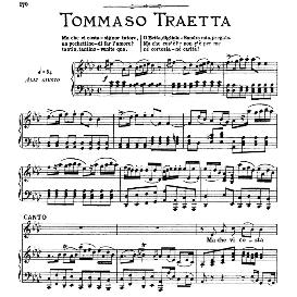 Ma che vi costa signor tutore, High Voice in A Flat Major, T.Traetta. For Soprano, Tenor. From: Arie Antiche (Parisotti) -3-Ricordi (1898) | eBooks | Sheet Music
